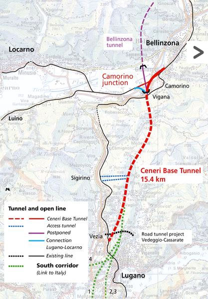 "Fig 2. Ceneri Tunnel alignment"" style=""width:210px;"
