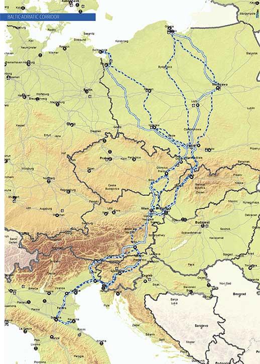 Baltic-Adriatic Corridor