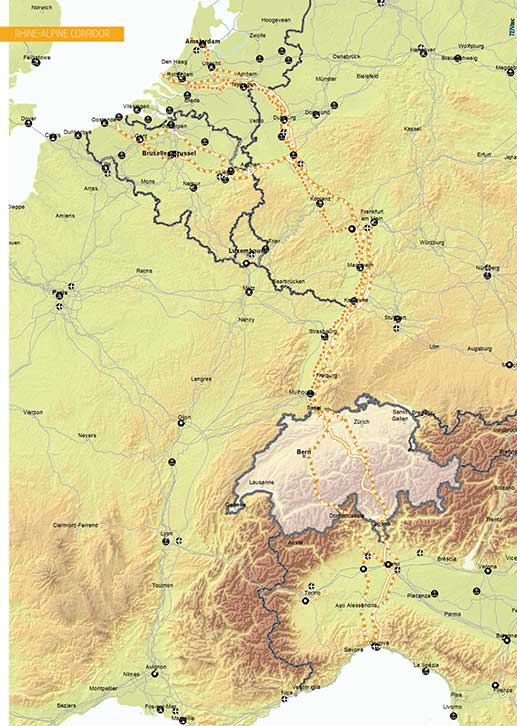Rhine-Alpine Corridor