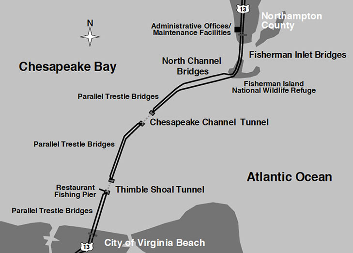 "37km Bridge Bay Tunnel features two tunnels"" style=""height:228px;"