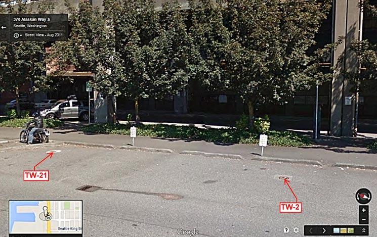 Street level view of TW-2