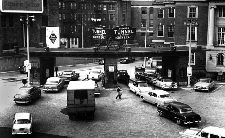 Sumner Tunnel opening April 24, 1934