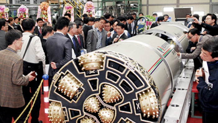 EM Korea unveils the country's first home-produced micro-TBM