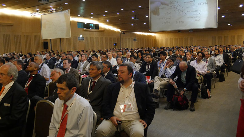 WTC2015 technical presentations