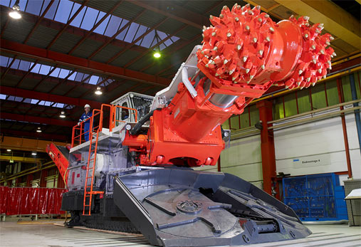 "Sandvik takes order for 13 roadheaders"" style=""height:265px;"