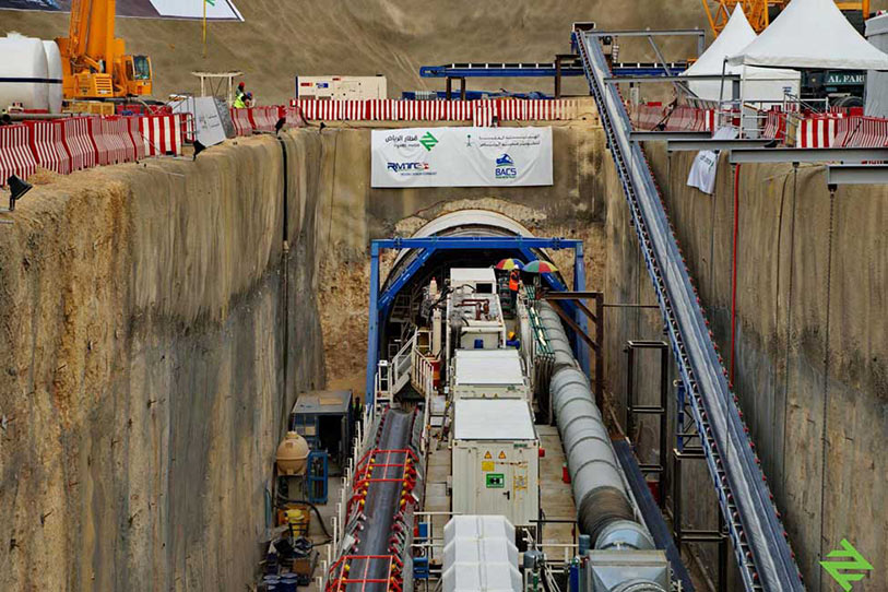 First TBM launch for BACS on Riyadh Metro Line 1
