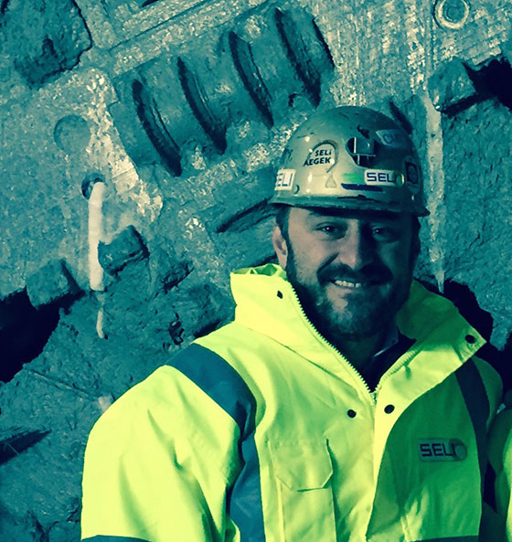Valerio Violo is head of Seli Tunneling Denmark