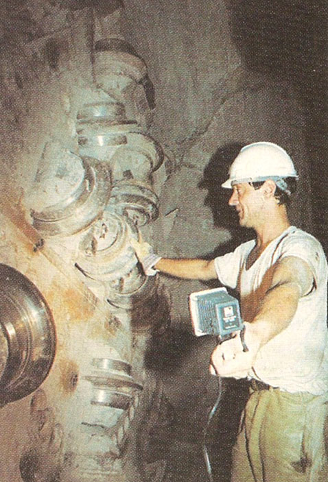 TBM cutterhead inspection