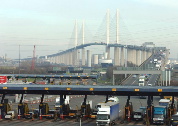 New crossing to relieve pressure on Elizabeth Bridge and Dartford Tunnel