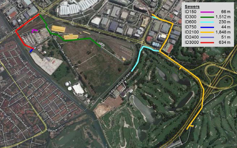 Contract T3005, 4.2km