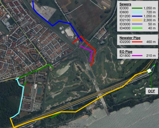 Contract T3003, 5.6km