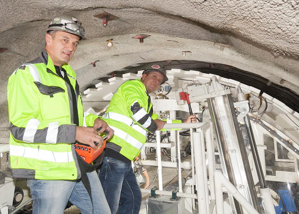 Tulfes-Pfons TBM will bore 15km of exploratory tunnel