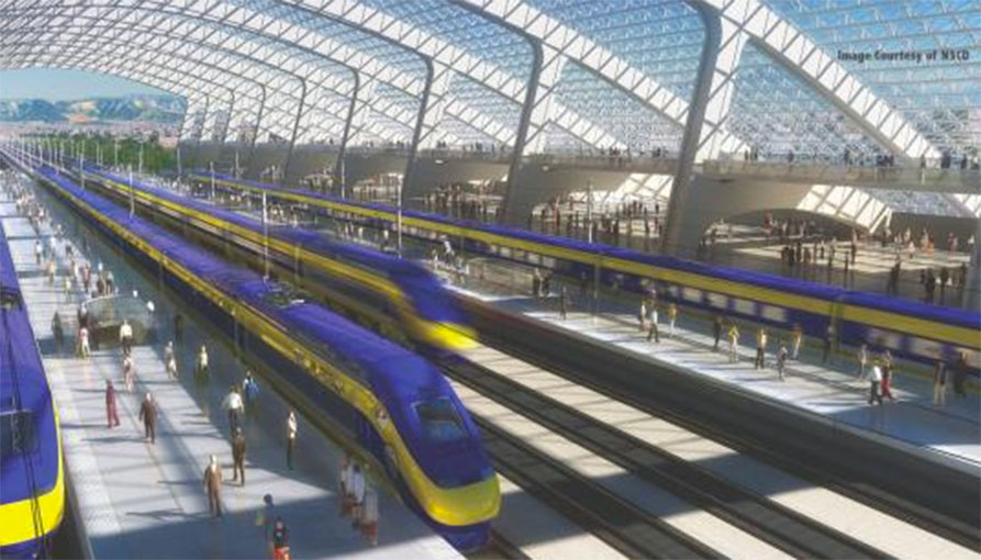 HMM is involved in California HSR mega project