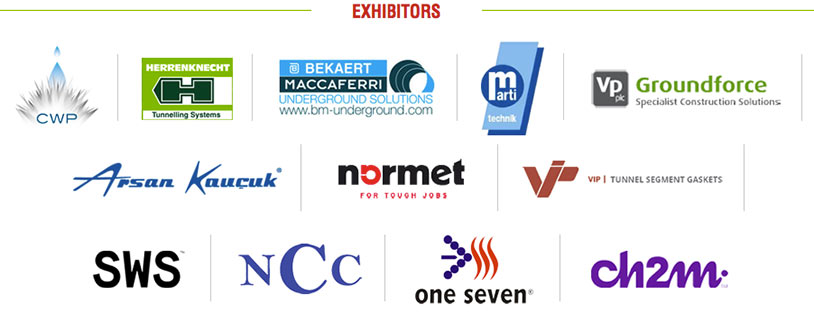 Companies with booths at the event's accompanying exhibition