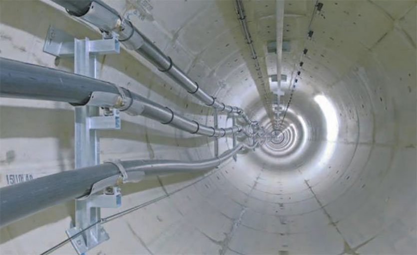 Buchan supplied 151,000 segments for London cable tunnel