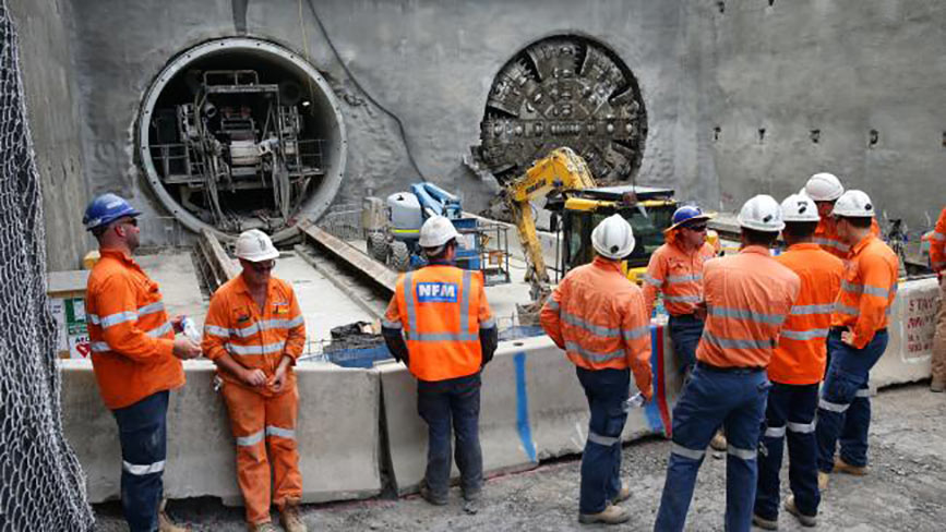 Tunnelling complete for Sydney Metro Northwest