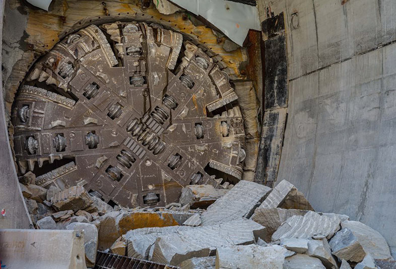 TBM3 (Isabelle) breaks through at Epping