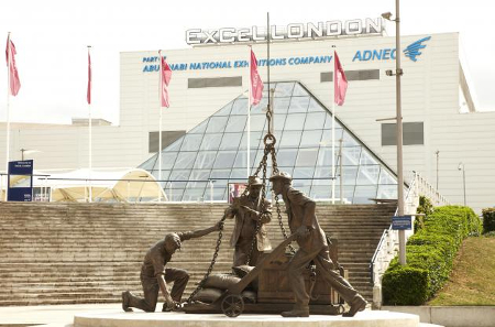 ExCel Exhibition Centre is located on the Crossrail line