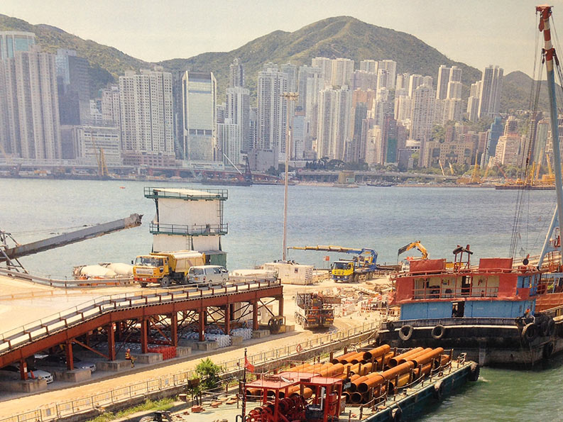 Ramping up for construction of Victoria Harbour immersed tunnel