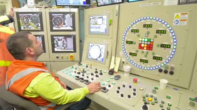 TBM Bertha operators have undergone extra training