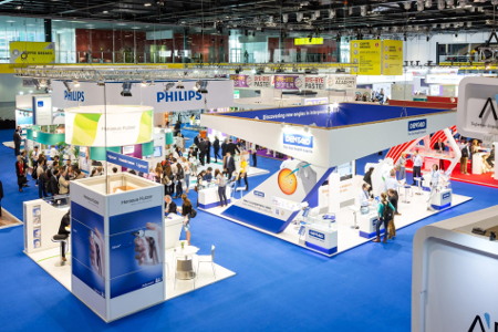 The purpose built exhibition hall at the purpose-built ICC at ExCel in London offers a high degree of versatility to create a central hub around which all activities of a  WTC in London in 2019 will revolve ' style='width:390px;