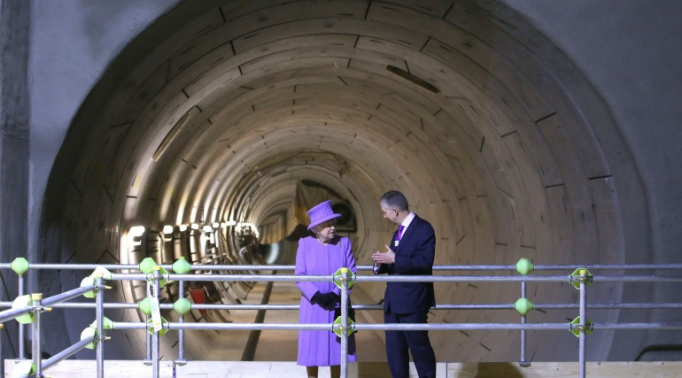 Royal seal of approval for Crossrail