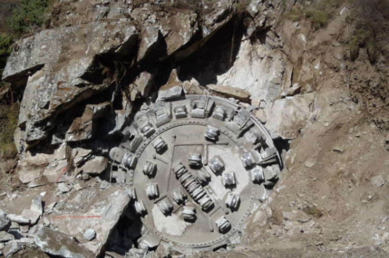 Breakthrough after 32 months of TBM excavation (Oct 2014)