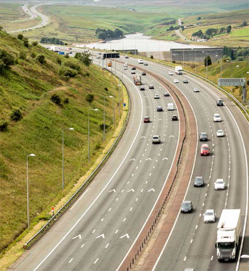 Trans-Pennine tunnel would relieve pressure on the M62 highway