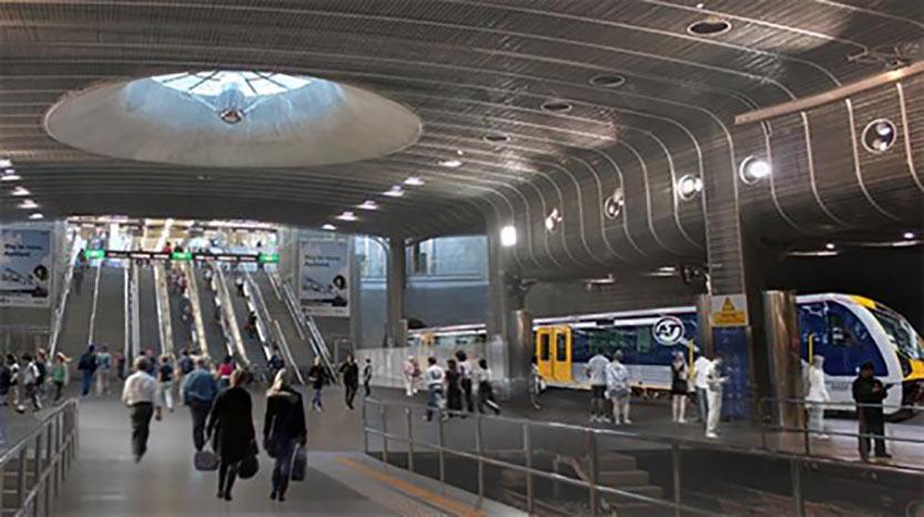 CRL underground station vision