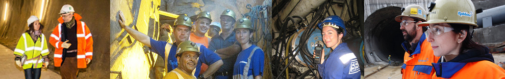 Women are making a positive mark in the tunneling industry