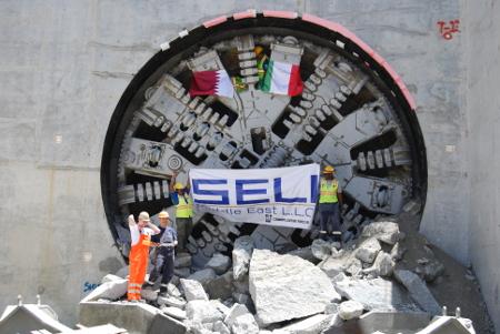 Breakthrough for Seli Overseas on the Doha Metro Gold Line