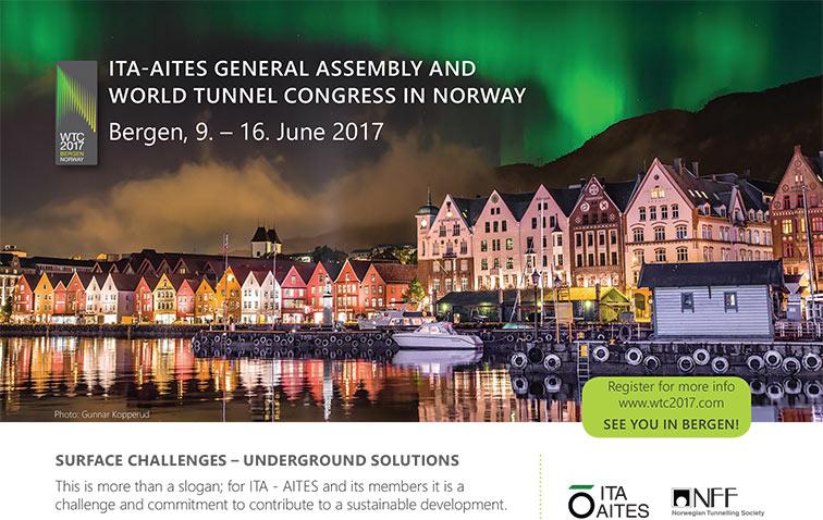 Bergen in Norway to host WTC2017 in June