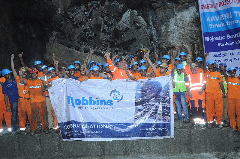Coastal and Robbins breakthrough celebrations in Bangalore