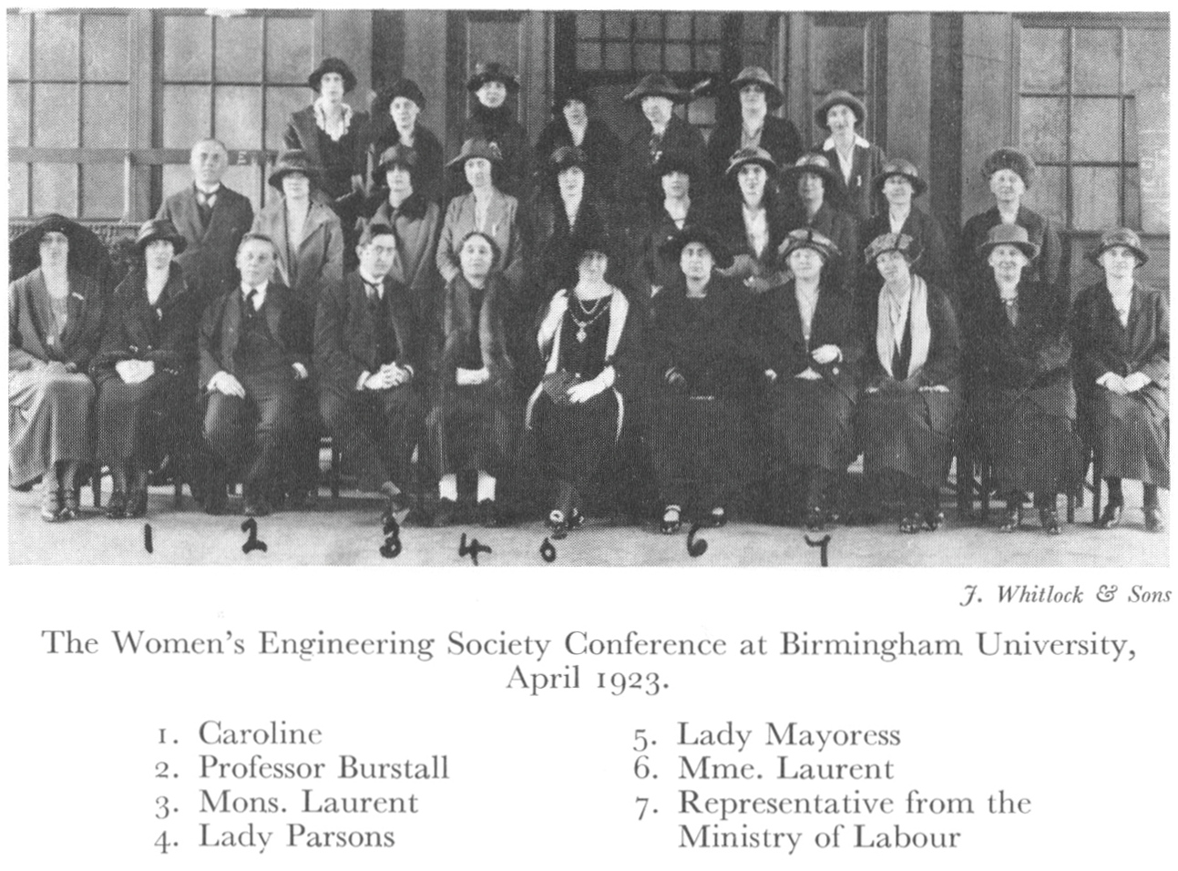 1923 conference of the <em>Women's Engineering Society</em>