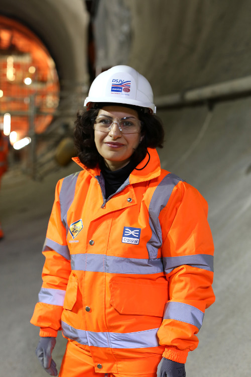 Narges Afshari, Ground Settlement Engineer, Dragados, Eastern Running Tunnels
