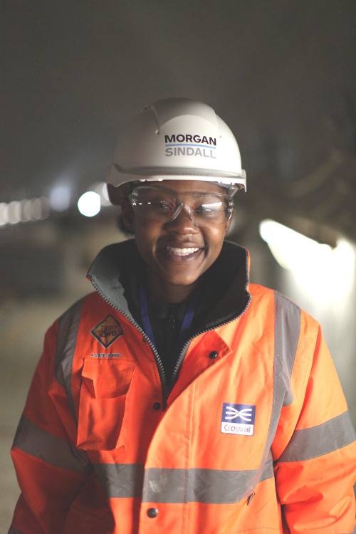 Shamain Dillon, Health and Safety Assistant, Morgan Sindall, Pudding Mill Lane site