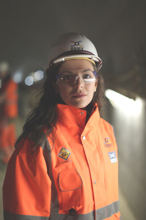 Stamatia Kantziari, Monitoring and Surveyor, Morgan Sindall, Whitechapel Station
