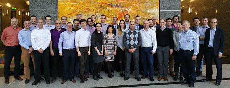 Mott MacDonald staff at the company's new office in Vancouver