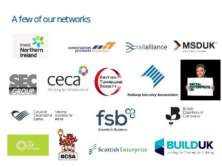 UK Government infrastructure development partner organisations