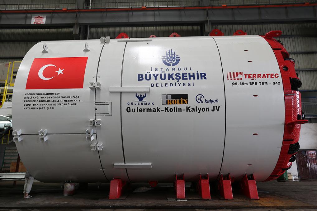 Terratec to supply two more 6.56m EPBMs for Istanbul Metro