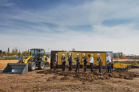 Construction starts on Wacker Neuson's new facilities