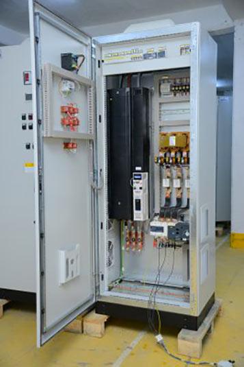 Control module for Ankara Metro ventilation system