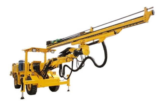Nanchang Kama HT81 single drill jumbo