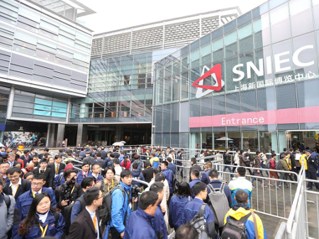 2,953 exhibitors, 170,000 visitors and 300,000m<sup>2</sup> of exhibition space created bauma China 2016