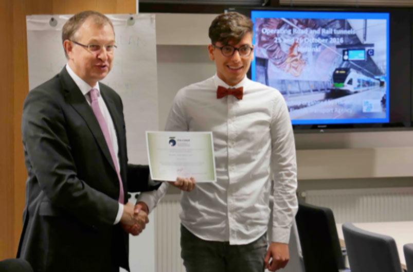 Wilson Ulises Rojas Alva receives ITA COSUF award