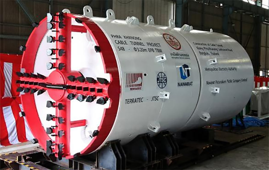 3.2m diameter EPBM for cable tunnel