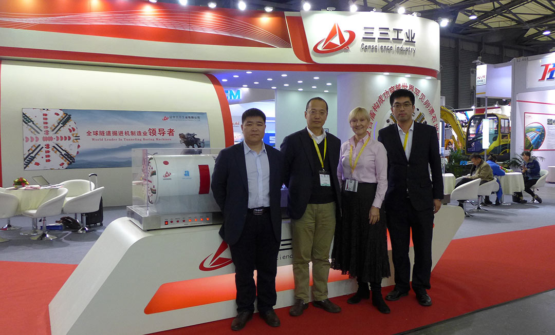 <em>TunnelTalk</em> Editor meets Lovsuns management at recent trade show