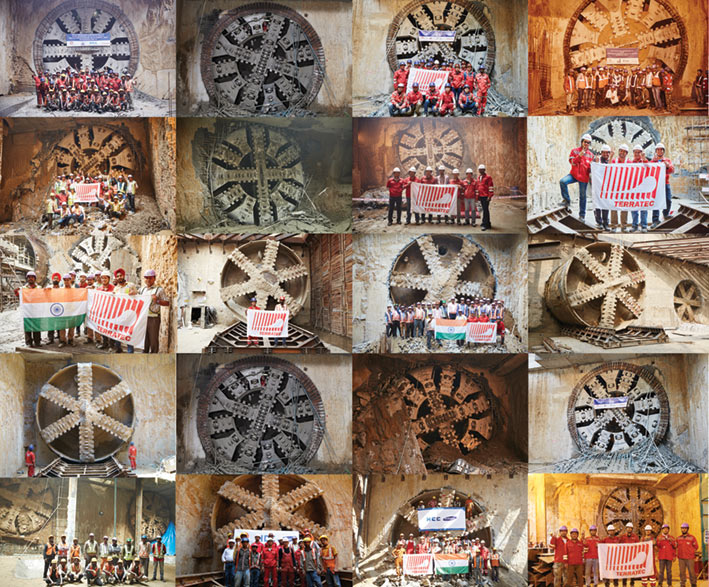 20 Phase III TBM breakthroughs for Terretec in Delhi
