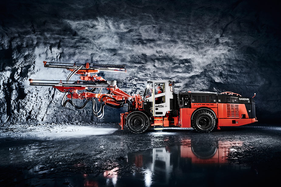 Sandvik scanning software provides for precise drill rig setup