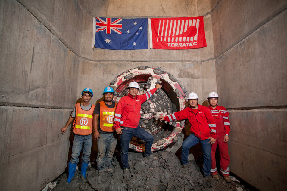 Terratec microtunnelling systems field services